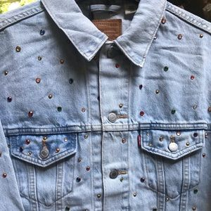 Levi's Studded Dad Trucker